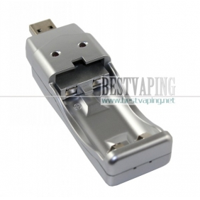 Wholesale Unique Silver AA/AAA USB battery Charger